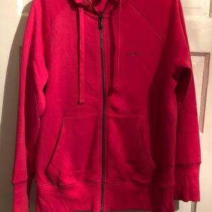Pink Reebok hoodie